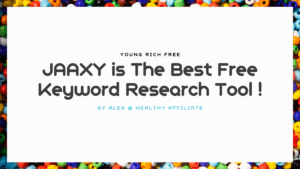 JAAXY is The Best Free Keyword Research Tool