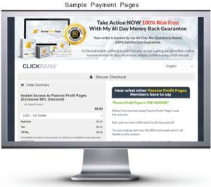 Passive Profit Pages Order