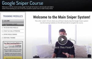 Google Sniper Course