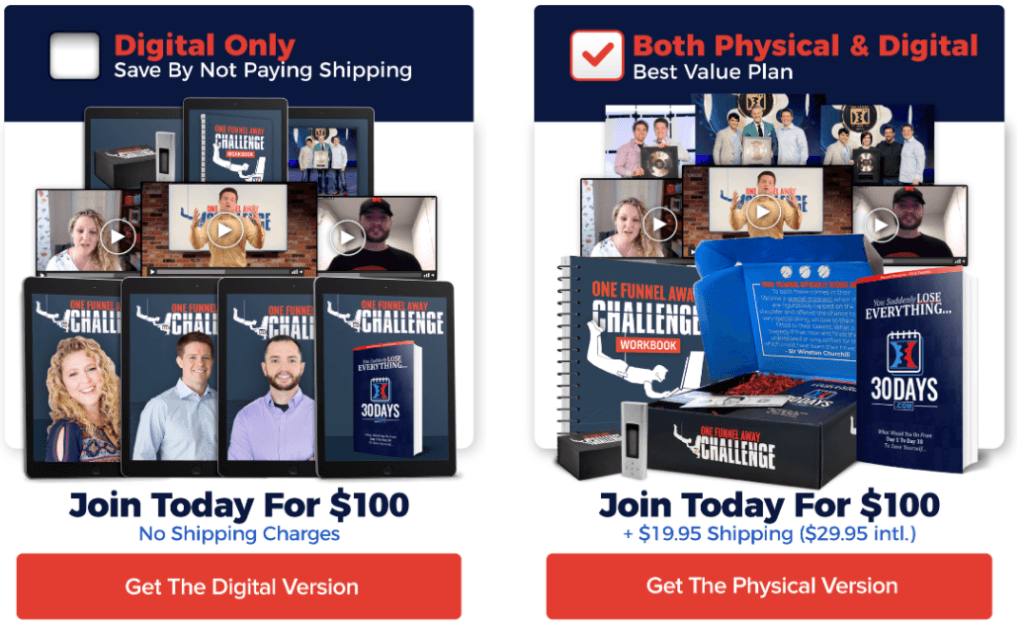 One Funnel Away Challenge Plan