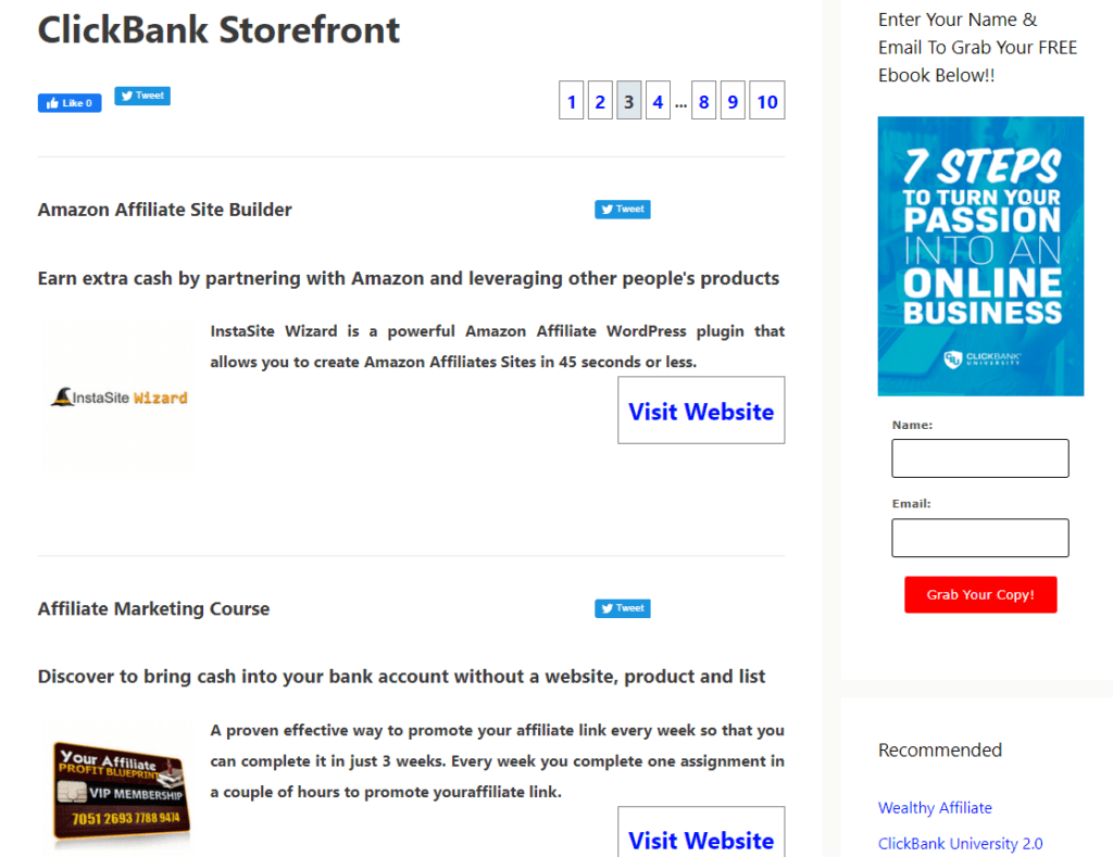 CBproAds WP Plugin For Storefront