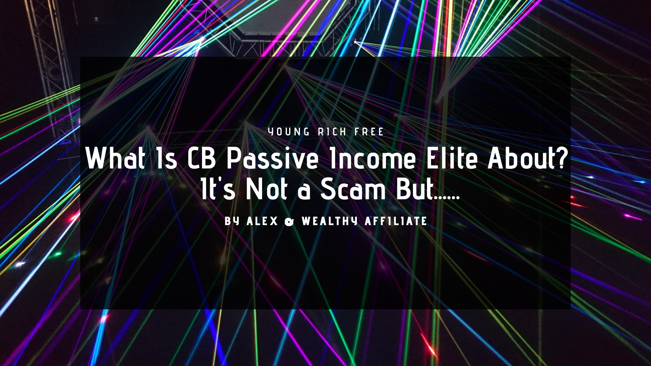 CB Passive Income Elite
